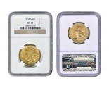 Indian Eagle Coins - 0.48375 oz. (1907-1933) ~ $10 Face Value  MS-62