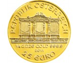 Austrian Gold Philharmonic - 1/4 oz. (2012 & Prior) ~ €25 Face Value