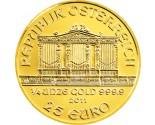 Austrian Gold Philharmonic - 1/4 oz. (2012 & Prior) ~ €25 Face Value