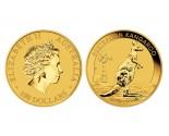 Australian Gold Kangaroo - 1 oz. (2012 & Prior) ~ $100 Face Value