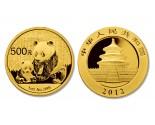 Chinese Gold Panda - 1 oz. (2012 & Prior) ~ 500 Yuan Face Value