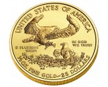 Gold American Eagles - 1/2 oz. (2012 & Prior) ~ $25 Face Value