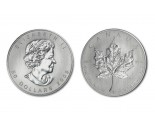 Palladium Maple Leafs - 1 oz. (2008 & Prior) ~ $50 (Canadian) Face Value