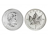 Platinum Maple Leafs - 1 oz. (2008 & Prior) ~ $50 (Canadian) Face Value