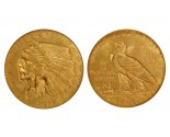 Indian Quarter Eagle Coins - 0.12094 oz(1908-1929) ~ $2.50 Face Value