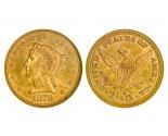 Liberty Quarter Eagle Coins - 0.12094 oz. (1840-1907) ~ $2.50 Face Value