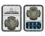 Morgan Silver Dollar Coins - 1 oz. (1878, 1904, 1921) ~ $1 Face Value  MS-63