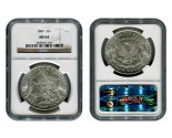 Morgan Silver Dollar Coins - 1 oz. (1878, 1904, 1921) ~ $1 Face Value  MS-64
