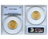 Liberty Half Eagle Coins - 0.24187 oz. (1839-1907) ~ $5 Face Value  MS-63