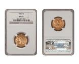 Liberty Half Eagle Coins - 0.24187 oz. (1839-1907) ~ $5 Face Value  MS-65