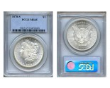 Morgan Silver Dollar Coins - 1 oz. (1878, 1904, 1921) ~ $1 Face Value  MS-65