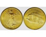 Saint Gaudens Double Eagle Coins - 1 oz. (1907 - 1933) ~ $20 Face Value