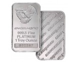 1 oz Engelhard Platinum Bar (w/assay) .9995 Fine