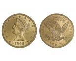 Liberty Eagle Coins - 0.48375 oz. (1838-1907) ~ $10 Face Value