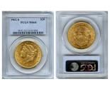Liberty Double Eagle Coins - 1 oz. (1849-1907) ~ $20 Face Value  MS-64