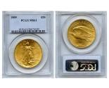 Saint Gaudens Double Eagle Coins - 1 oz. (1907 - 1933) ~ $20 Face Value  MS-61