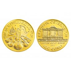 Austrian Gold Philharmonic - 1 oz. (2012 & Prior) ~ €100 Face Value