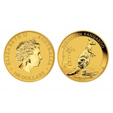 Australian Gold Kangaroo - 1 oz. (2012 & Prior) ~ $100 Face Value