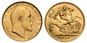 "British Sovereigns or ""Kings""."