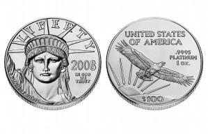 Platinum American Eagles - 1 oz. (2008 & Prior) ~ $100 Face Value
