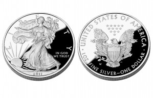 Proof Silver American Eagles - 1 oz. (2012 & Prior) ~ $1 Face Value