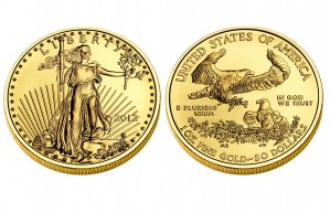 Gold American Eagles - 1 oz. (2012 & Prior) ~ $50 Face Value