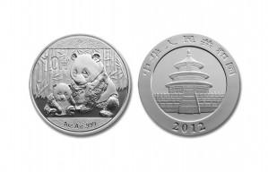 Chinese Silver Panda Coin - 1 oz. (2012 & Prior) ~ 10 Yuan Face Value
