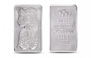 Pamp Suisse Platinum Bar 10 Oz 999 Fine Sold Out