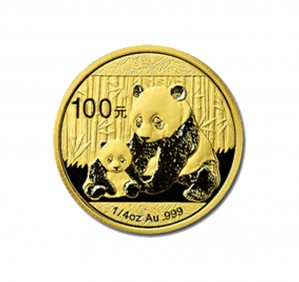 Chinese Gold Panda - 1/4 oz. (2012 & Prior) ~ 100 Yuan Face Value