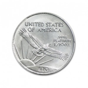 Platinum American Eagles - 1/10 oz. (2008 & Prior) ~ $10 Face Value