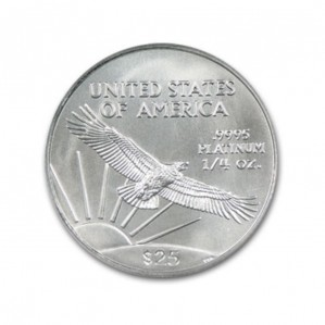 Platinum American Eagles - 1/4 oz. (2008 & Prior) ~ $25 Face Value