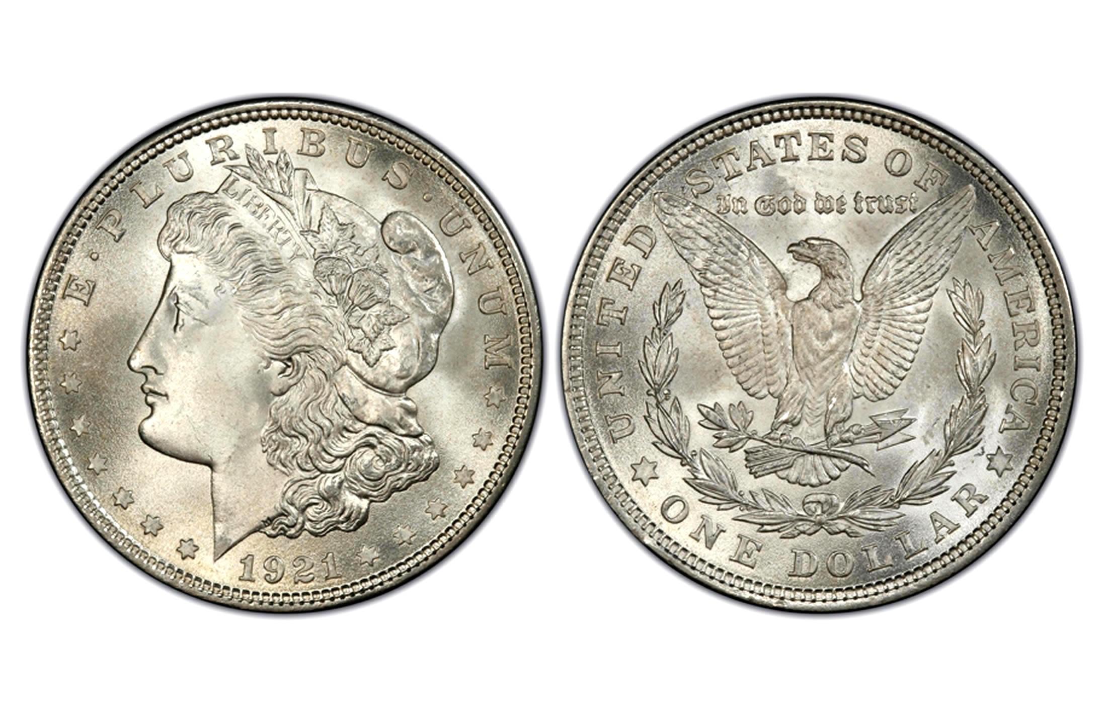 Morgan Silver Dollar Coins 1 Oz 1878 1904 1921 Face Value